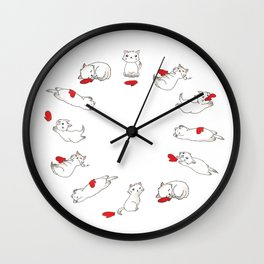Kitts and Mitts Wall Clock