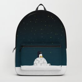 Star gazing - Penguin's dream of flying Backpack