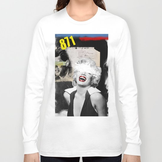 Public Figures , Marilyn Long Sleeve T-shirt