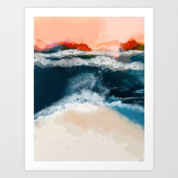 water world Kunstdrucke