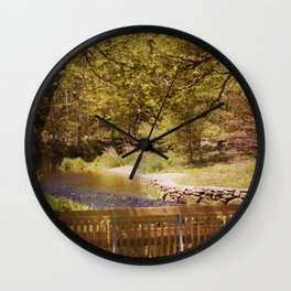 Footbridge Wall Clock