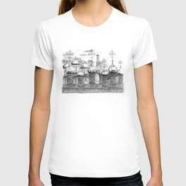 Moscow Kremlin Cupolas G2009-048 T-shirt