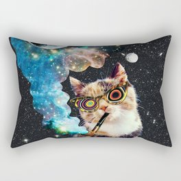High Cat Rectangular Pillow