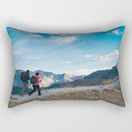 Mountain Views Rectangular Pillow
