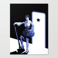 scott pilgrim Canvas Prints featuring Ramona Flowers - Scott Pilgrim by Danielle Tanimura