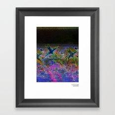 //V/ERKEHRSACHSENT Framed Art Print