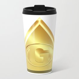 Letter G Metal Travel Mug