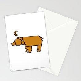 Bear Moon Stationery Cards