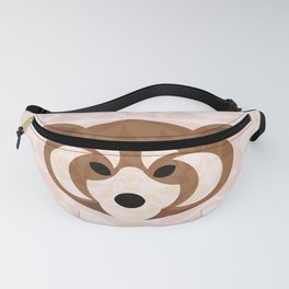 Chubby Red Panda Fanny Pack