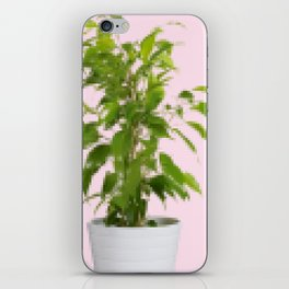 Pixelated Pot Plant iPhone Skin