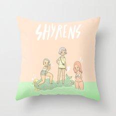 Shyrens Throw Pillow