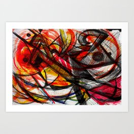 _caos Art Print