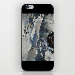 Biplane squadron iPhone Skin