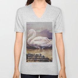 Swan Lake Unisex V-Neck