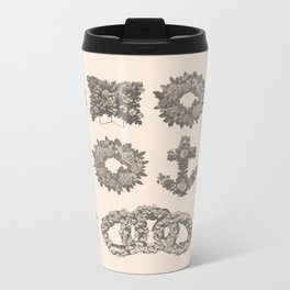 Funeral Wreaths Metal Travel Mug