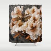 iggy azalea Shower Curtains featuring Azalea by dominiquelandau