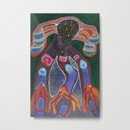 Cosmic Cervix De-armouring Metal Print