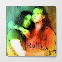 BALLIE Metal Print