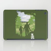last of us iPad Cases featuring The Last Of Us by Pixel Design