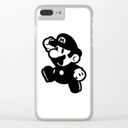 Mario Clear iPhone Case
