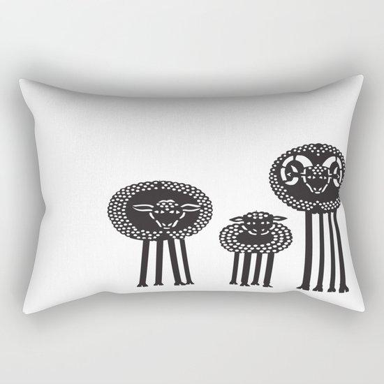 Long-Legged Sheep Rectangular Pillow