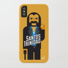 Santos Trinidad iPhone X Slim Case
