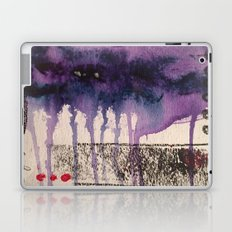 Purple Rain, original artwork by Stacey Brown Laptop & iPad Skin