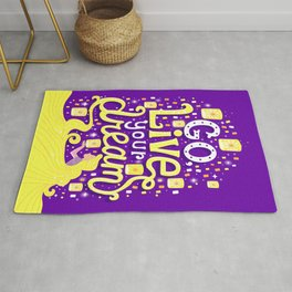 Live your dream Rug