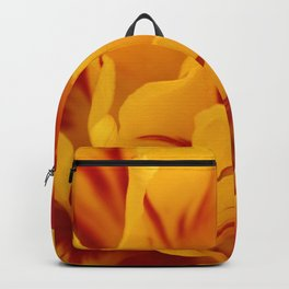 A Chaos of Reds and Yellows: in the Heart of a Triandrus Daffodil Backpack
