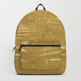 Aztec Gold abstract watercolor Backpack