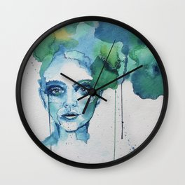 Blue Day Wall Clock