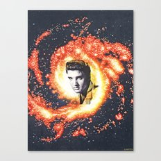ELVIS IS EVERYWHERE Canvas Print