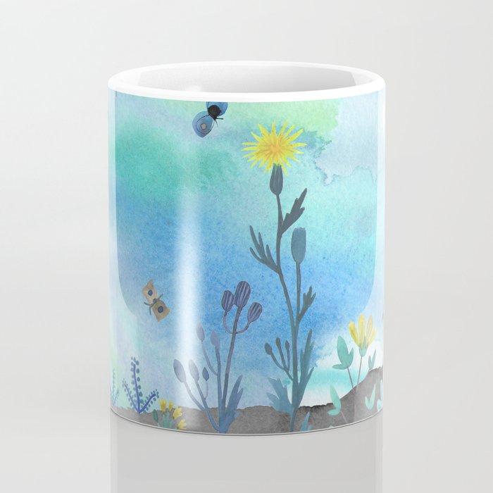 Blue Garden I Coffee Mug