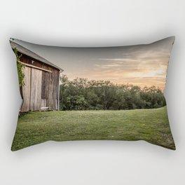 Pennsylvania Barn Rectangular Pillow
