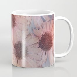 Floral carpet, textured painting Coffee Mug