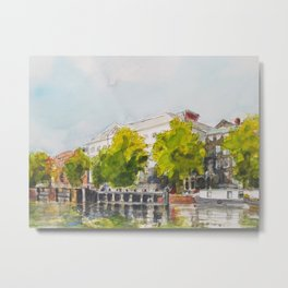 Amsterdam Cityscapes 29 Metal Print