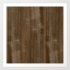 Australian Walnut Wood Art Print