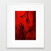 let it go Framed Art Prints featuring Let go by Siriusreno