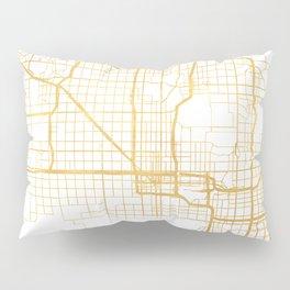 PHOENIX ARIZONA CITY STREET MAP ART Pillow Sham