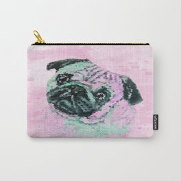 Artistic Mr Pug Dog Carry-All Pouch