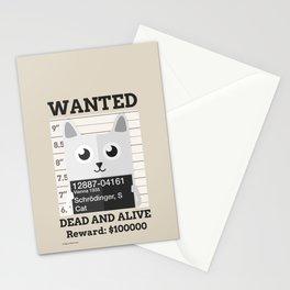 Schrödingers Cat Stationery Cards