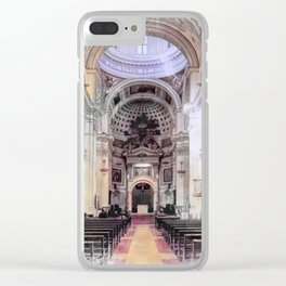 Trapani art 6 Clear iPhone Case