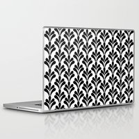 art deco Laptop & iPad Skins featuring art deco by frenkelvic
