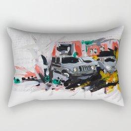 Accident one Rectangular Pillow