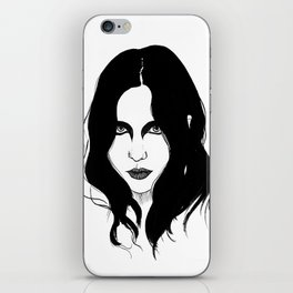 Chelsea Wolfe iPhone Skin