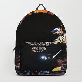 K.B, Kobe#Bryant Dunks Basketball Sports Poster Poster Backpack