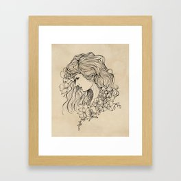 The Beauty In You Framed Art Print