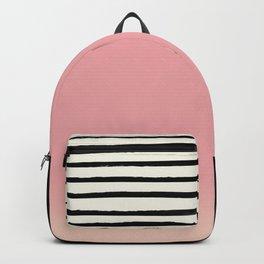 Blush x Stripes Backpack