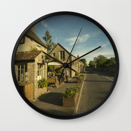 Old Crown at Kelston Wall Clock