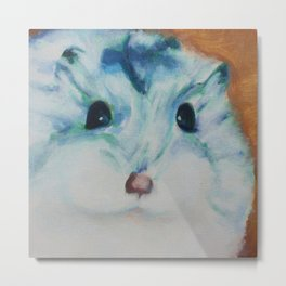 Chippy the Hamster Metal Print